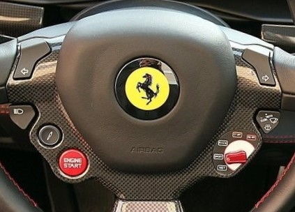 Ferrari Spider Steering Wheel Center