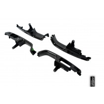 Audi A4/S4/RS4 B7 carbon door handle inserts