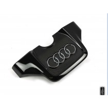 Audi 6cyl. TFSI carbon engine cover