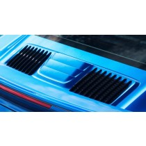 Porsche 991 Turbo/S carbon rear cover for intake / air vent - facelift