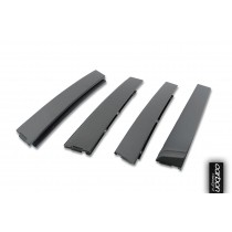 VW Golf MK6 carbon B Pillar (carbon)