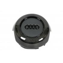Audi A3/S3/RS3 8V airbag cap - flat bottom (carbon)