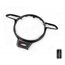 Audi carbon steering wheel guide ring (carbon)