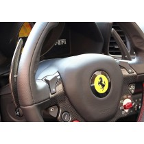 Ferrari 458 Italia carbon shift paddles