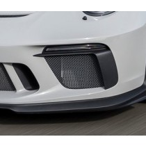 Porsche 991.2 GT3 RS carbon bumper covers (carbon)